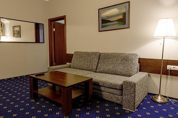 Люкс 2-местный 2 комнатный вид на озеро (корпус Югославский) (1)