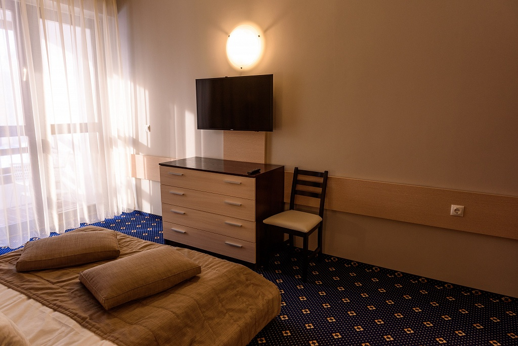 Люкс 2-местный 2 комнатный вид на озеро (корпус Югославский) (10)