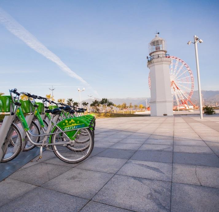 Отель Admiral,прокат велосипедов