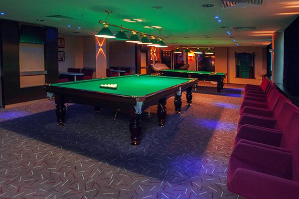 Отель Ramada Екатеринбург,Бильярд