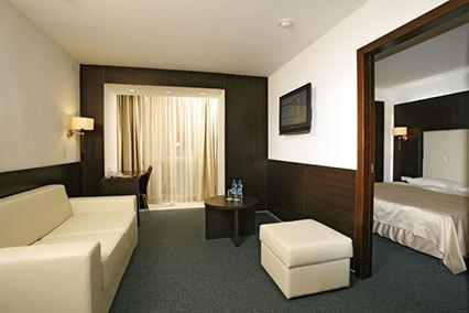 Гостиница Турист,Люкс 2-комнатный, гостиная