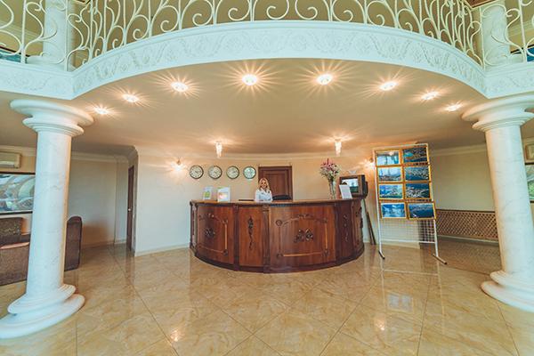 Гостиница Лиана,Ресепшн