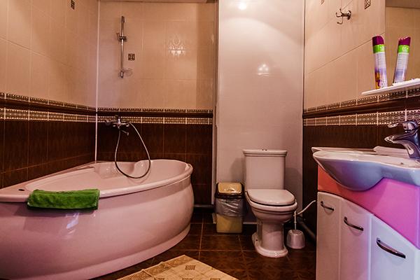Апартаменты 4-местные (супер) санузел