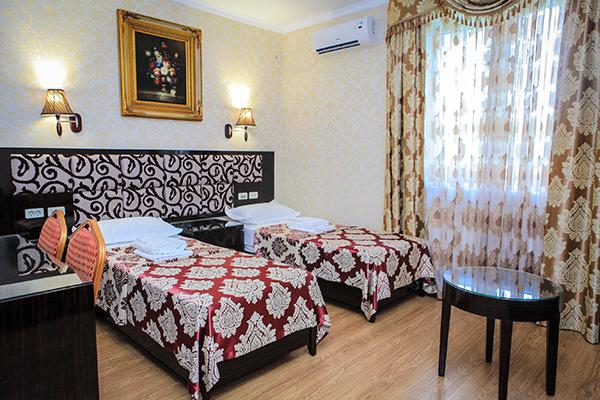 Отель РОЗА ВЕТРОВ,Стандарт 2-местный