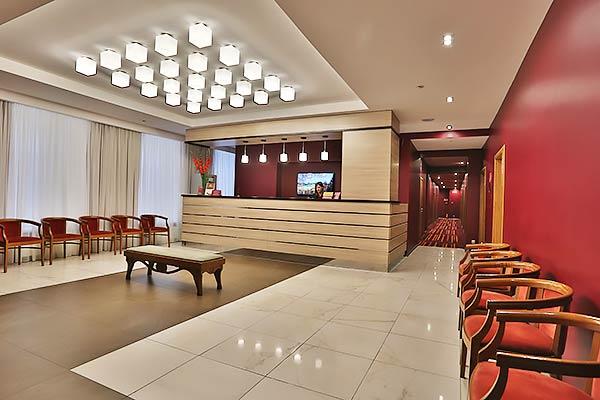 Гостиница Best Western Plus Center,Ресепшн