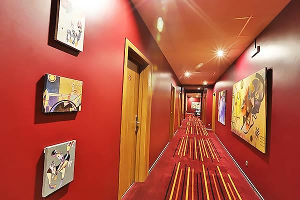 Гостиница Best Western Plus Center,Коридор