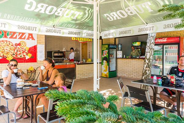 Санаторий Бригантина,Кафе промежуточного питания