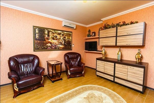 Апартаменты 2-комнатные 1-й вариант (