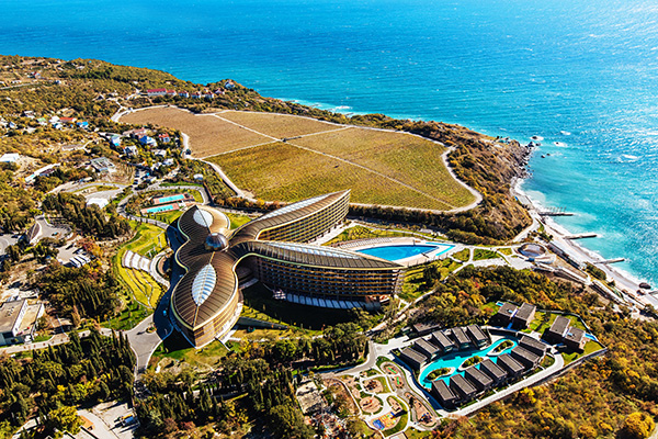 Санаторно-курортный комплекс Mriya resort,Вид сверху MRIYA RESORT & SPA