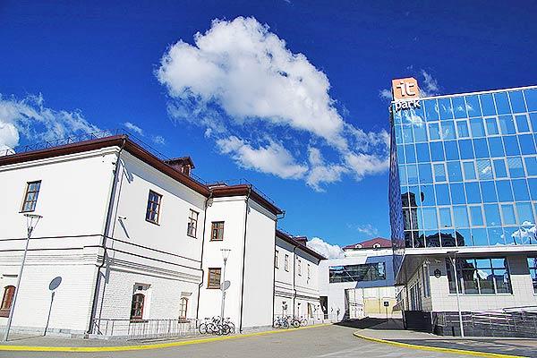 Отель ИТ-парк Казань,Внешний вид