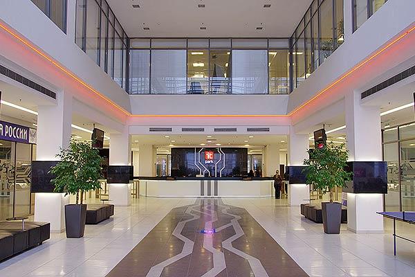 Отель ИТ-парк Казань,Холл