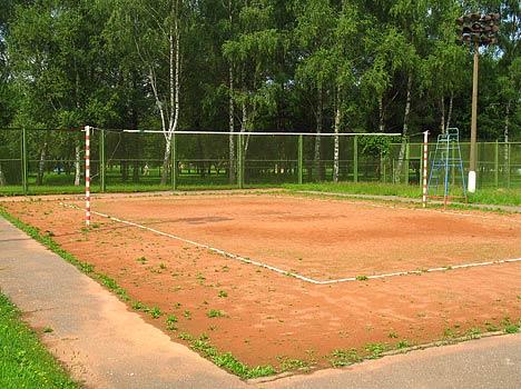 Дом отдыха Подмосковье (ЦВДО),Спортплощадка