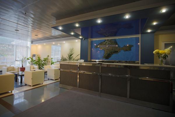 Гостиничный комплекс Бухта Мечты,Стойка службы  приема и размещения