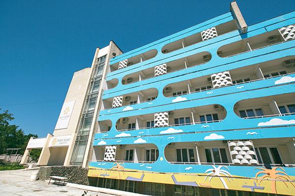 Санаторно-курортный комплекс Family Resort,Внешний вид жилого корпуса