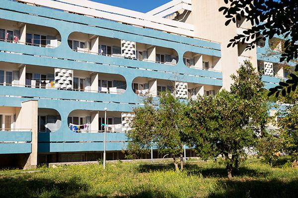 Санаторно-курортный комплекс Family Resort,Вид на жилой корпус