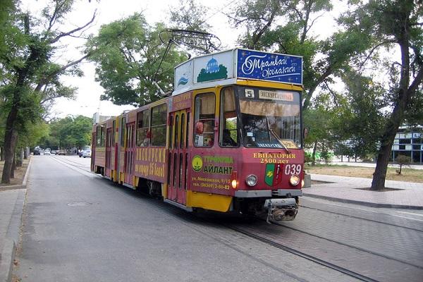 Достопримечательности: Трамвай в Евпатории