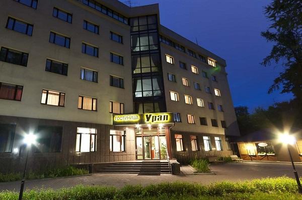 Гостиница Урал,Общий вид отеля