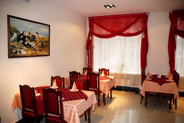Гостиница Урал,Кафе