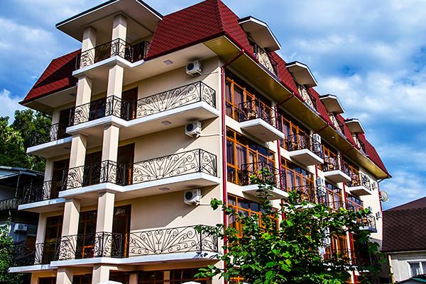 Отель Арда (Arda),Внешний вид