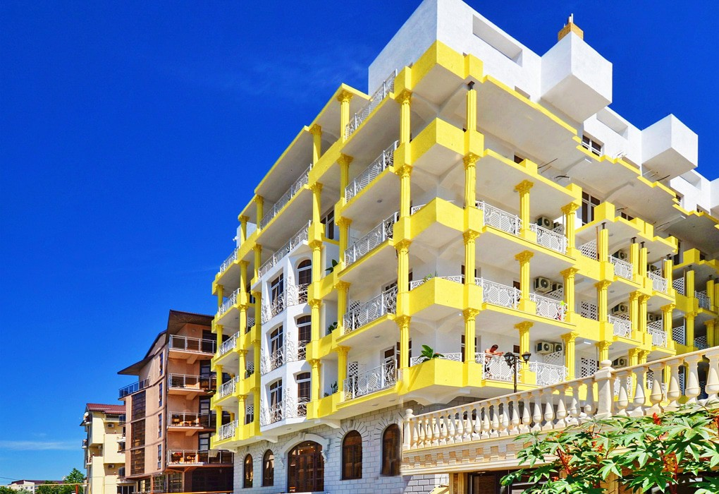 Отель Французский квартал,Фасад