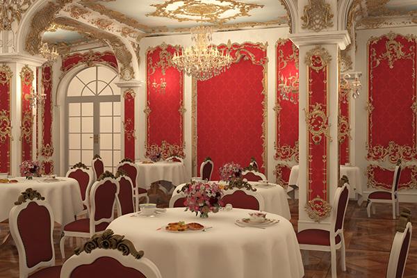 Отель Французский квартал,Ресторан