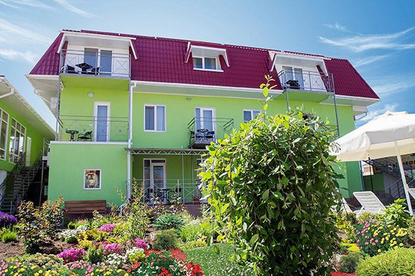Отель Коктевилль,Зелёный корпус
