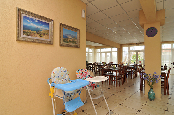 Отель Коктевилль,Кафе