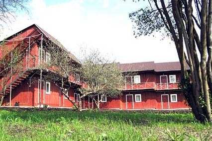 Отель Снегирек Экотель,Внешний вид