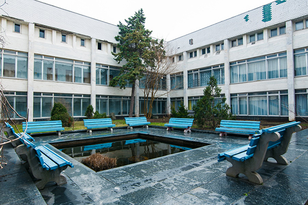 Санаторий Таврия,Медицинский корпус