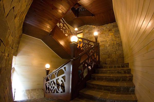 Гостиница Астарта,Внутренняя лестница