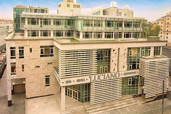 Отель LUCIANO SPA ,Фасад