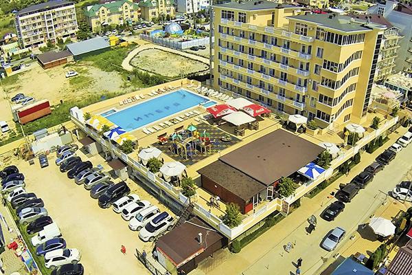 Отель Имера ,Общий вид