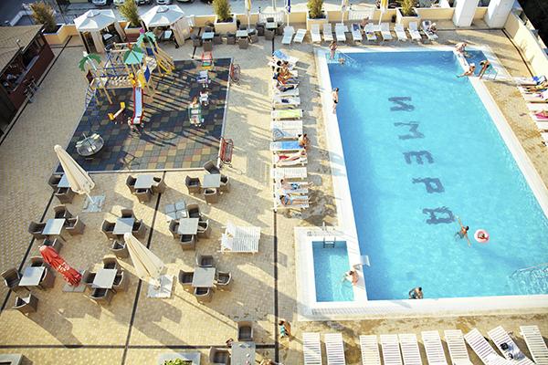 Отель Имера ,Бассейн