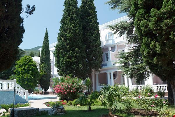 Отель Усадьба Голубой Залив,Внешний вид корпуса