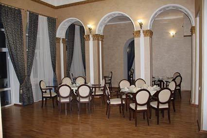 Отель Усадьба Голубой Залив,Ресторан