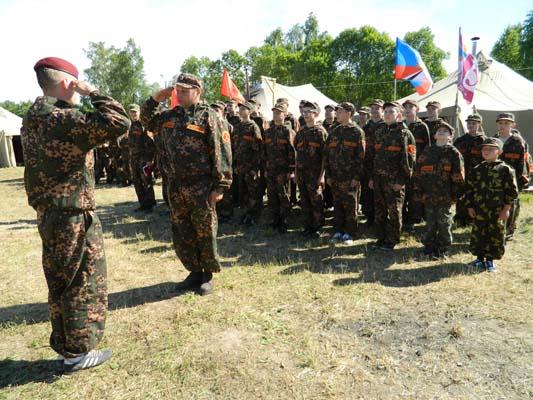 Детский лагерь отдыха Разведбат, детский военно-спортивный лагерь,