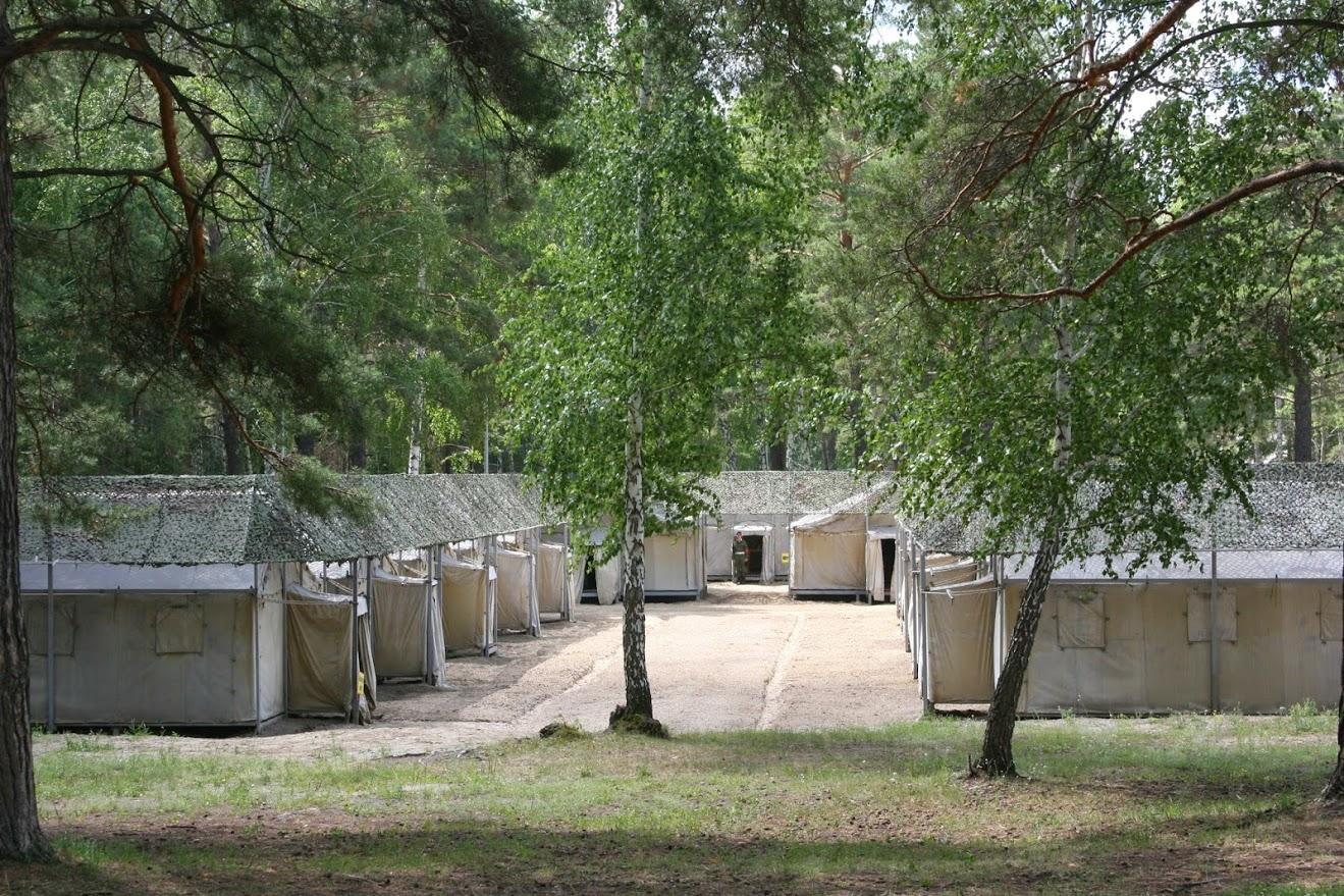 палаточный лагерь рабоает летом