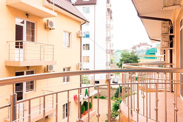 Гостевой дом Эльмира,Вид с балкона