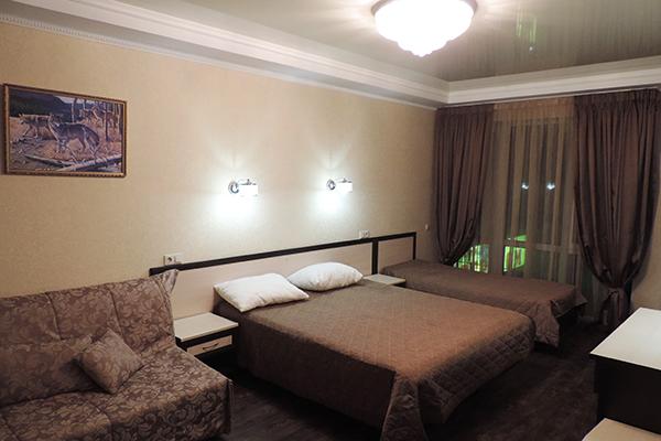 Отель Вилла Олива,5-и местный полулюкс
