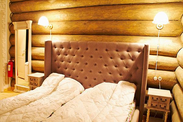 Парк-отель Времена Года,Спальня парящий дом