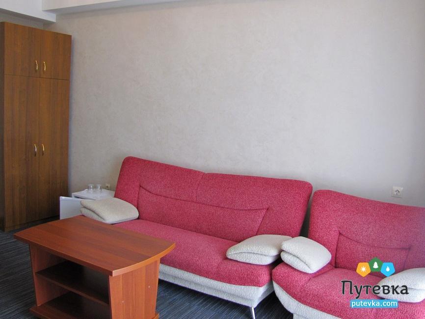 Фото номера Люкс 2-местный 2-комнатный (корпус №1), 3