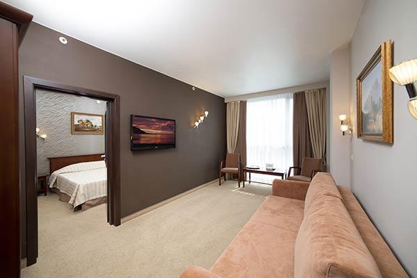 люкс 2-комнатный 2-местный 19-20 этаж