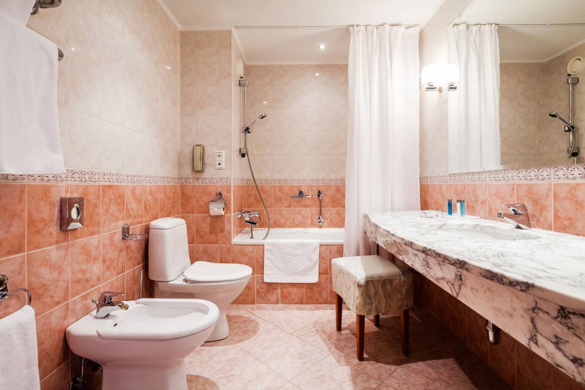 Гостиница Moscow country club,bathroom-1