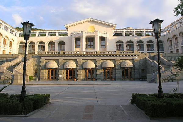 Санаторий Нижняя Ореанда ,Корпус №1 административный