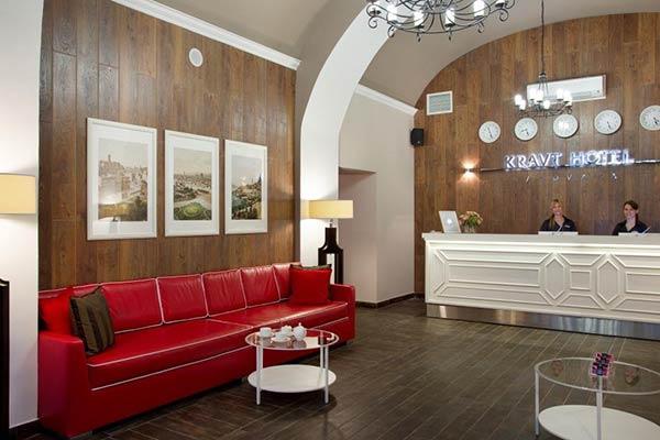 Гостиница Kravt Hotel ,reception