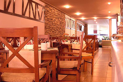 Гостиница Азимут-отель,Ресторан