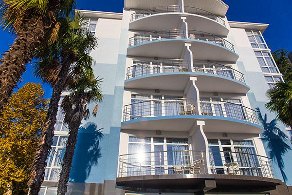 Отель Санрайз Гарден (Sunrise Garden),Вид на балконы
