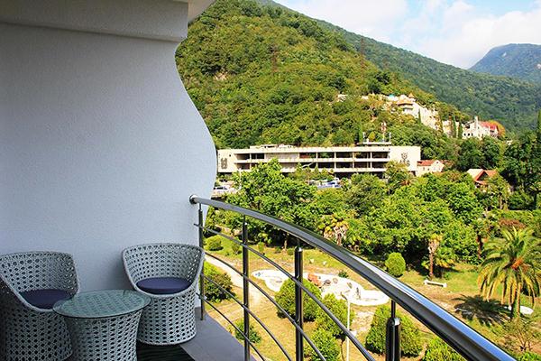 Отель Санрайз Гарден (Sunrise Garden),Вид с балкона