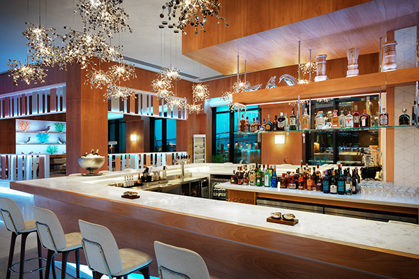 Отель Boulevard Hotel by Autograph Collection,White city cafe