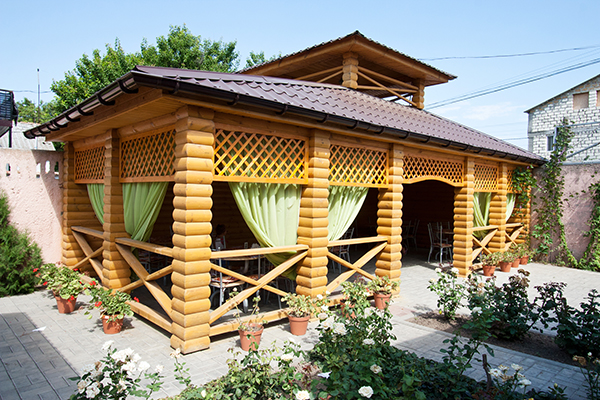 База отдыха Альтернатива,Столовая